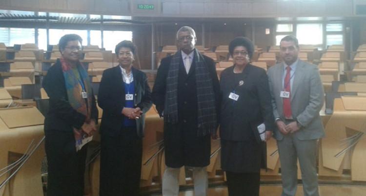 Fijian Group Visits Scottish Parliament