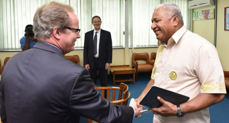 World Bank Regional Vice President Meets Our PM