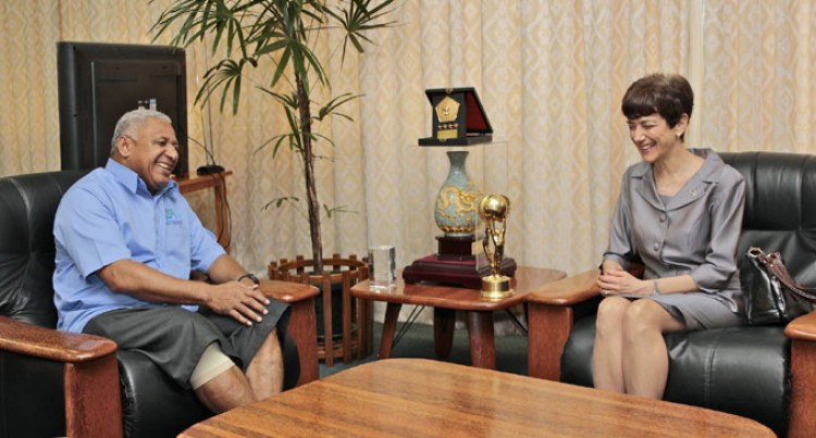 PM Hold Talks With New US Ambassador To Fiji