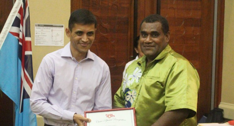 Waqa Given Special Recognition For Host