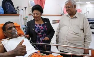 Kishan Smiles After A Long Struggle