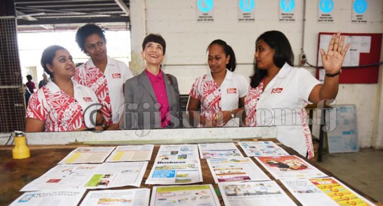 American Ambassador visit Fiji Sun