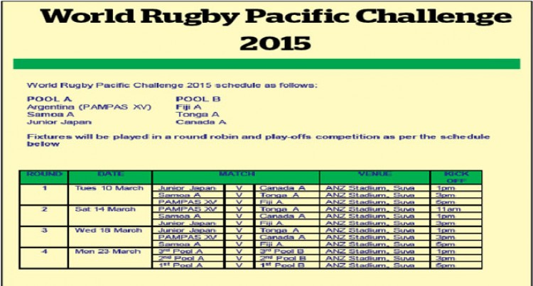 Fiji Hosts Rugby's Revamped 'Pacific Challenge' Next Month