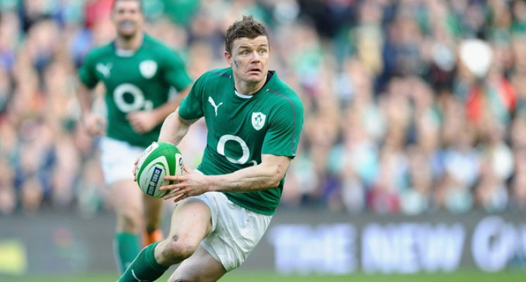 The Pride Of Ireland Brian O'Driscoll