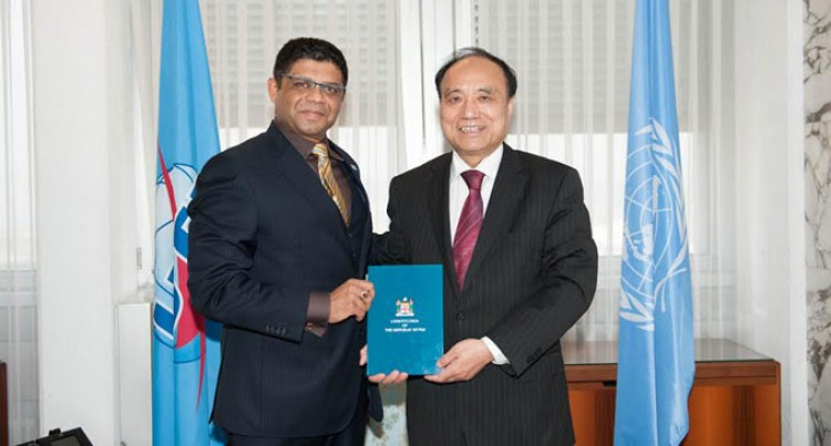 A-G Meets With New World Telecom Leader
