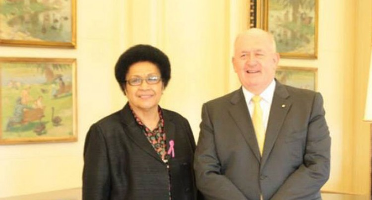 Fiji Delegation Meet Australian Governor-General