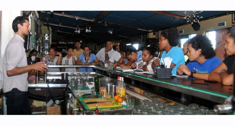 Diageo Up Skills Bar Tenders In Fiji