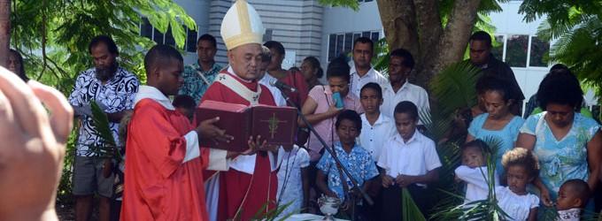 Holy Week Starts