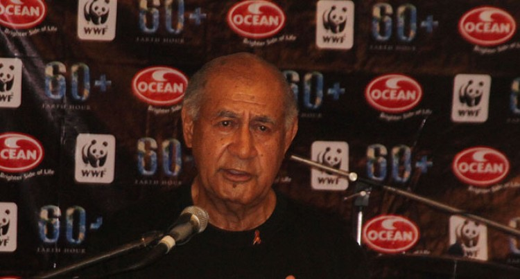 Ratu Epeli Highlights Climate Change