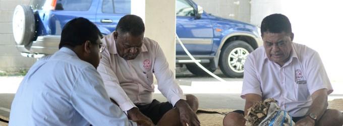 Fijian Teachers Association Presents 'Matanigasau' To Reddy