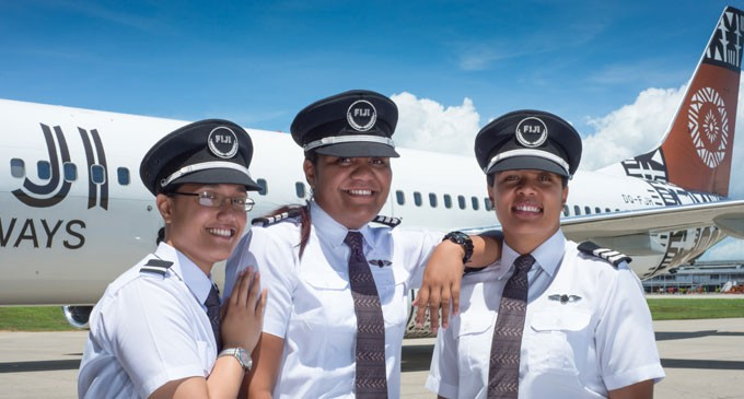 Fiji Airways' New Pilot Look | Fiji Sun