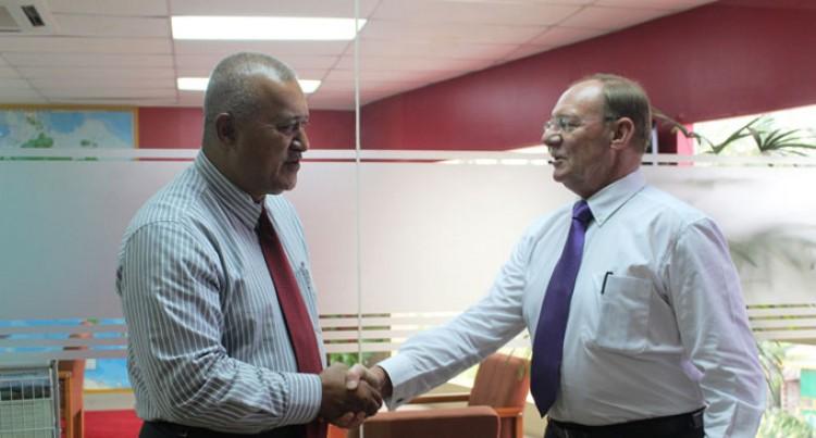 Ambassadors Meet Police Commissioner