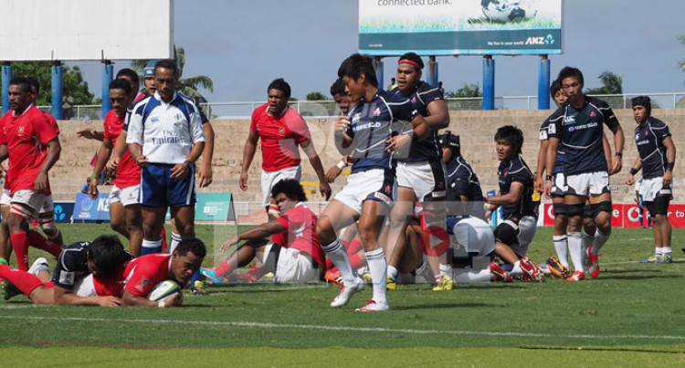 Tonga A Beat Japan Juniors