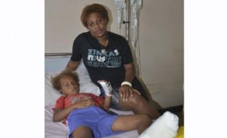 Mother Prays For Injured Daughter