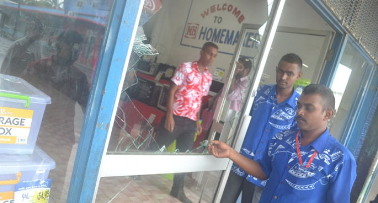 Strong Winds Were Felt In Labasa