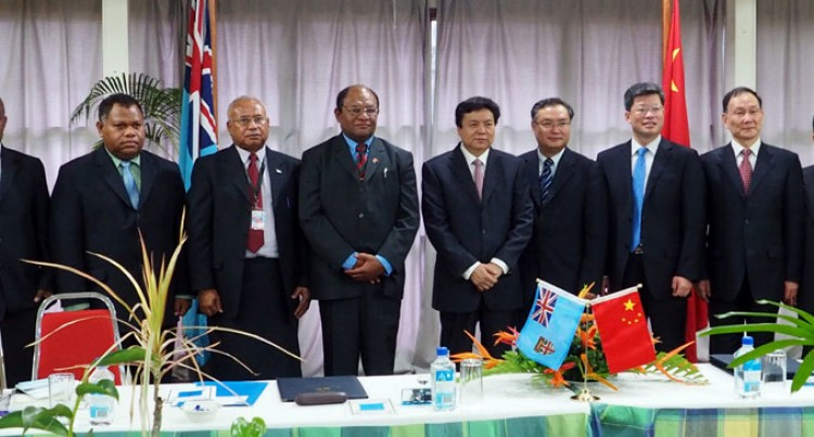 Fiji, China Sign MOU On Forestry Co-operation