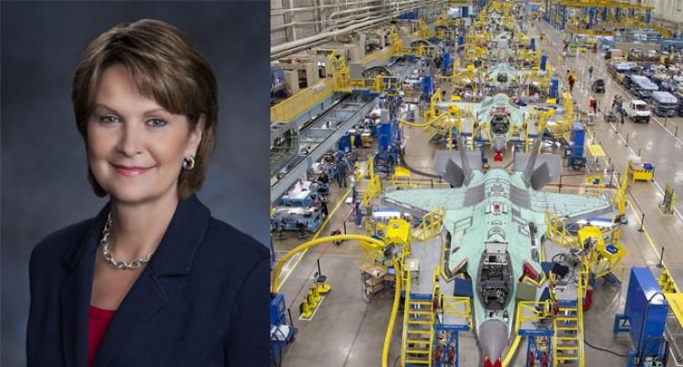 Leading Lockheed; Marillyn A. Hewson