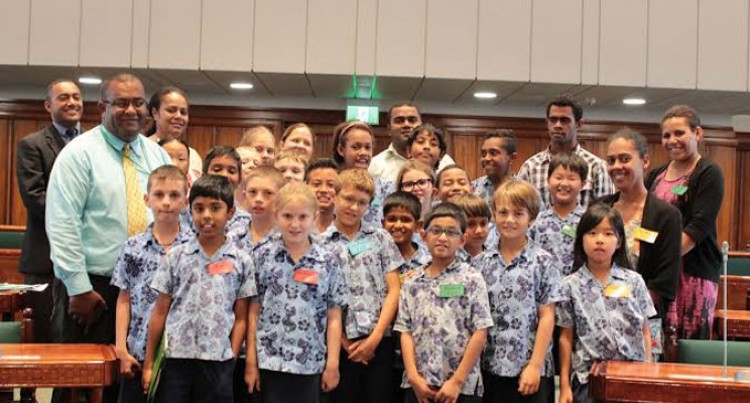 Nadi Students Visit Parliament
