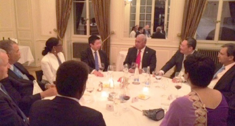 PM Hosts High High Level Dinner To Conclude Geneva Visit