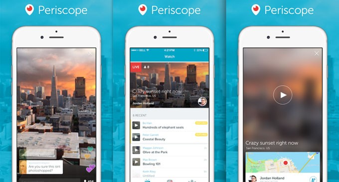 Periscope Is Best Live-streaming Video App
