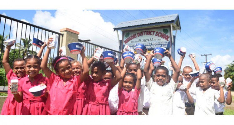 Teachers, Parents Laud 'Free Milk'