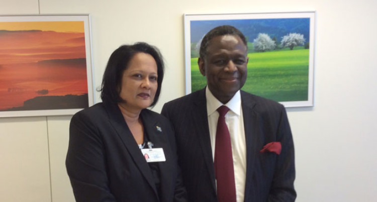 Minister Meets Executive Director UNFPA