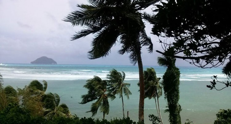 Rotuma Gets Winds, Heavy Rain