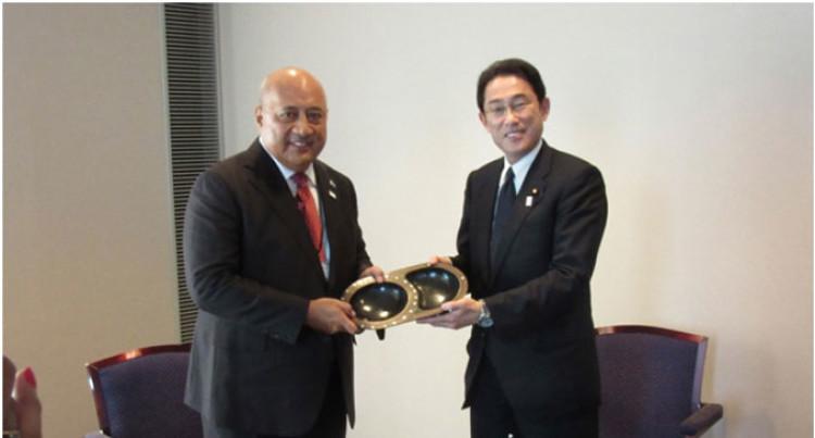 Ratu Inoke Builds Japan Ties