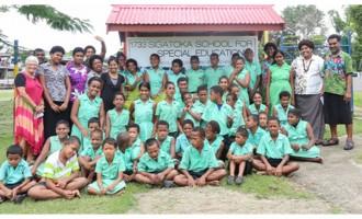 Resort Helps Sigatoka Special School
