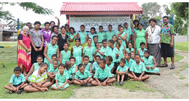 Resort Helps Sigatoka Special School