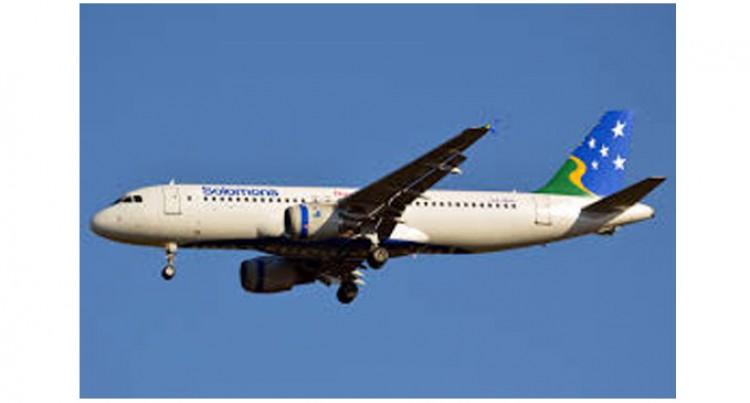 Solomon Airlines Charters  Nauru Boeing