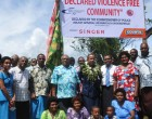 Tubeirata Village Joins  Violence-Free Initiative