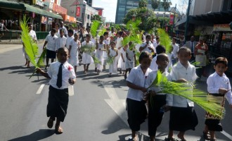 Wesley Kids March Through Suva