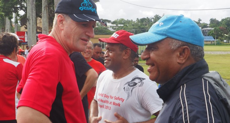 PM Leads Suva Walk