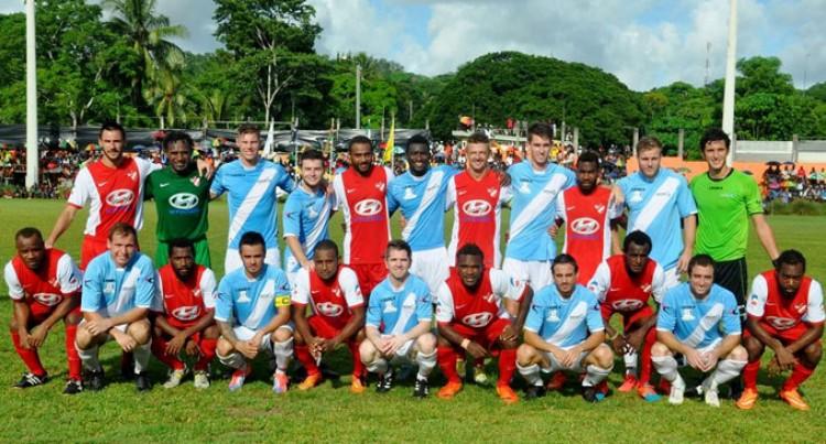 Fijians Help Amicale FC Win