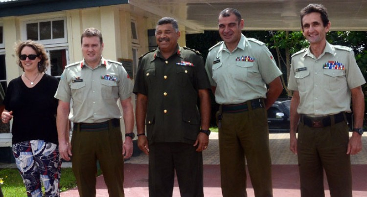 RFMF Meets New Zealand Defence