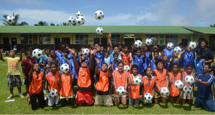 Centre For Young Football Players Opens In Suva