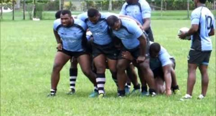 Telecom Fiji Warriors Training Session