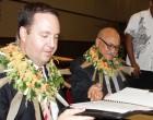 Aust, Fiji Sign Work Deal