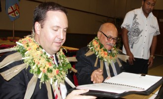 Aust, Fiji Sign Work Deal