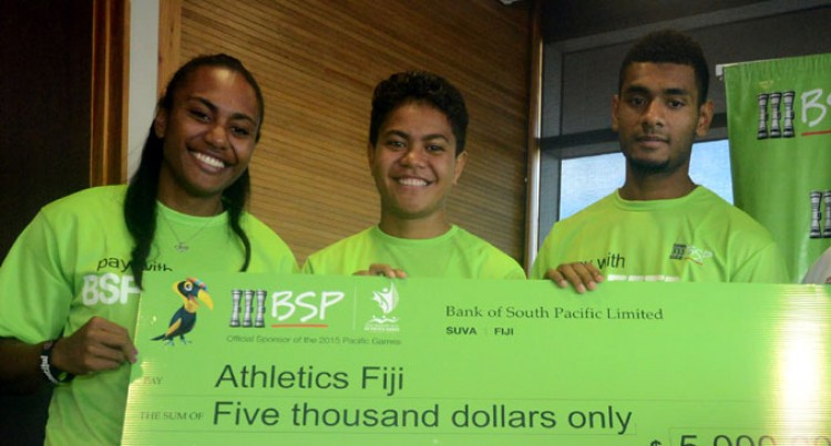 BSP's $5k Boost To Athletics Fiji Team