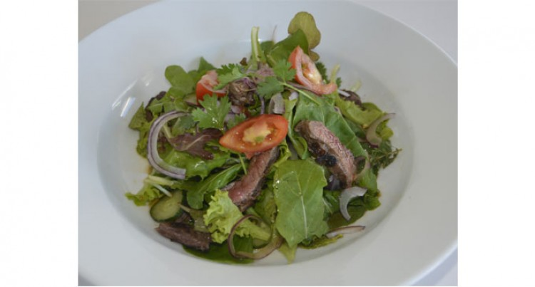 Thai Beef Salad AT Cafe O