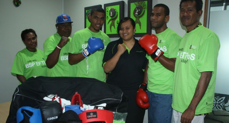 Delainavesi Club Gets Boxing Boost