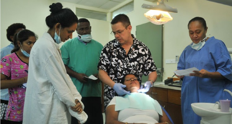 NZ Dental Team Begin Treatment, Training