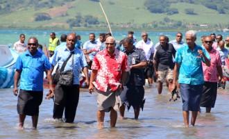 PM  Bainimarama's Water Vision
