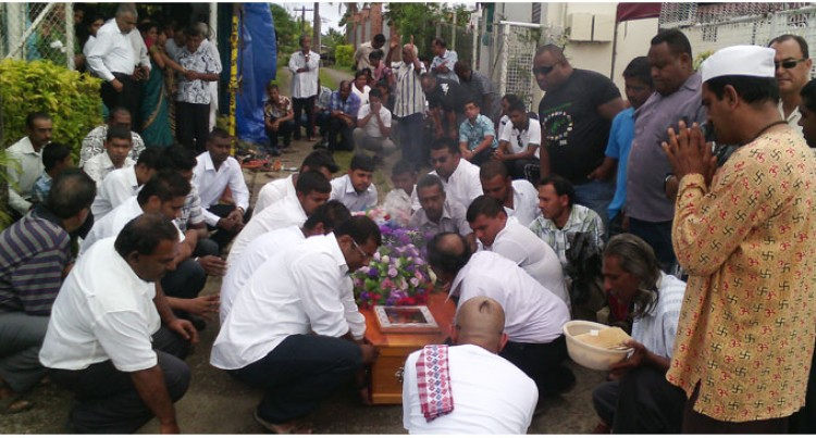 Friends, Family Bid Accident Victim Farewell