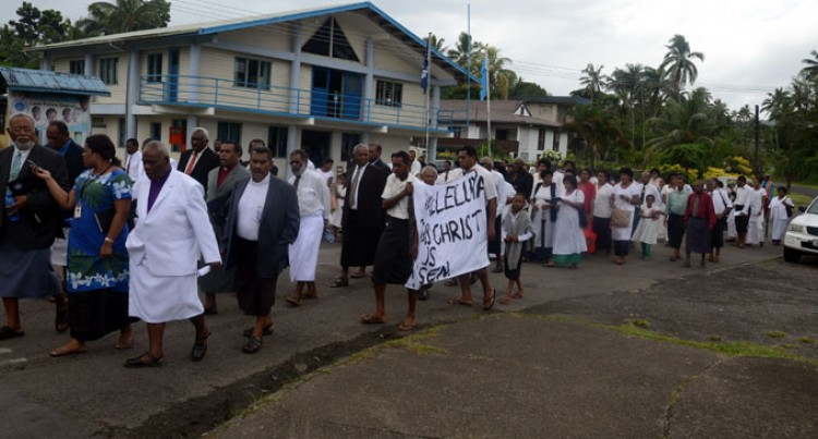 Methodists March To Mark Resurrection Day