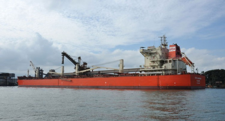 Bauxite Shipment Off To China