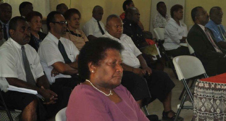 Nadroga Discusses Gender Needs