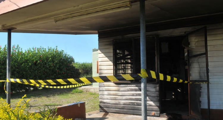 Probe Over Police Post Fire